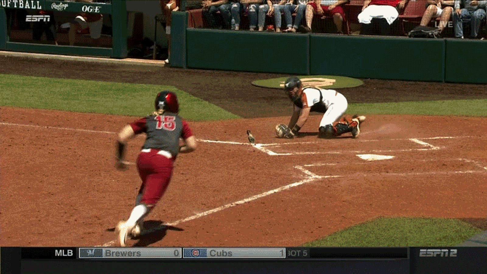 Oklahoma Softball Scores Unconventional Run