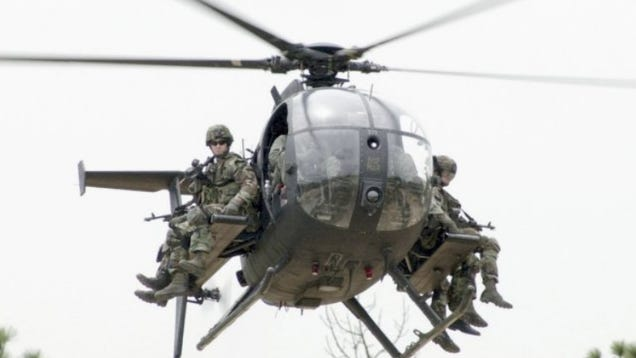 War Related Bird Claw Quote: America's Littlest Black Ops Whirlybird Is Armed To The Teeth