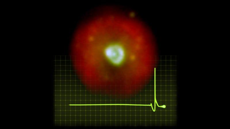 HuBi 1, the inside-out nebula.
