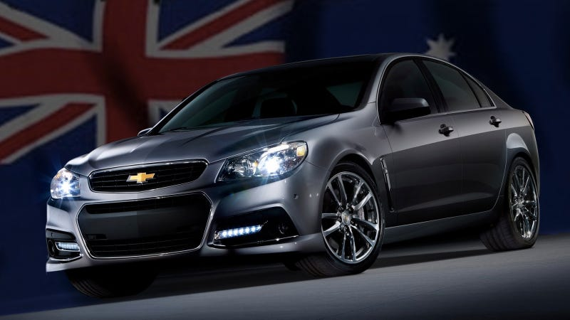 Illustration for article titled How The Australian Consul Snagged A Chevy SS For Official Business In America