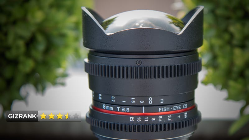 Illustration for article titled Rokinon 8mm Fisheye Cine-Lens Lightning Review: Extreme Wide Angle on a Budget