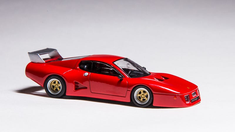Illustration for article titled Custom 1/64 Kyosho Ferrari 512 BB LM