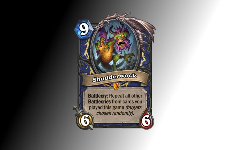 Illustration for article titled Hearthstone Director Reveals 'The Craziest Card We've Ever Made'