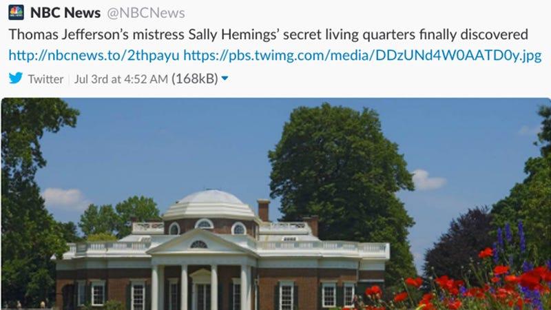 @NBCNews via Twitter screenshot
