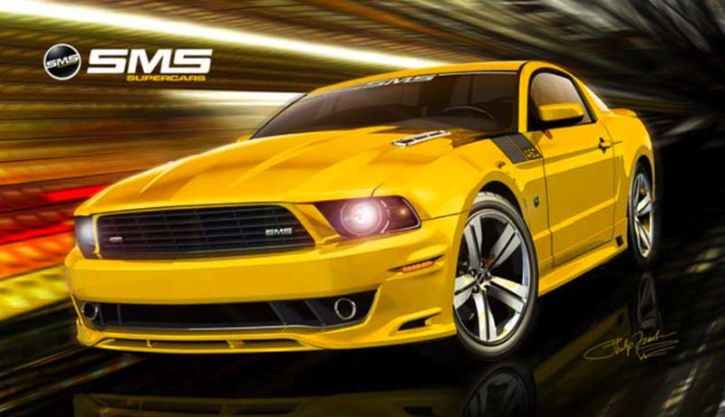 Illustration for article titled 2010 SMS 460 Mustang: Two Anniversaries, Two Wicked Stangs