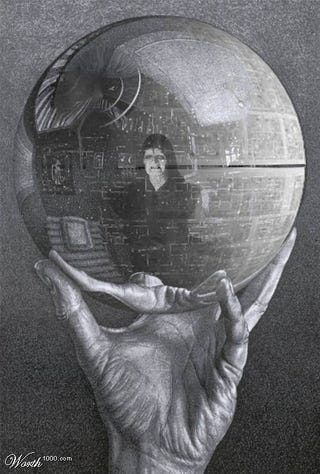 Illustration for article titled Star Wars Meets Classic Art