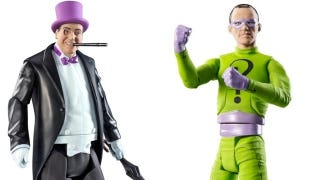 Illustration for article titled Holy action figures! It's the first Batman '66 toys!