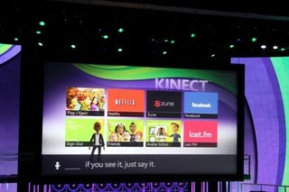 Illustration for article titled Kinect Brings Voice And Motion Control To Xbox Live