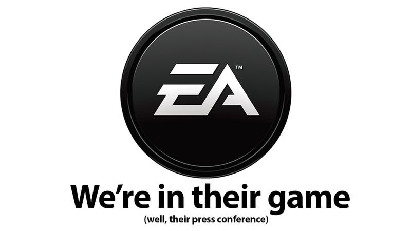 Illustration for article titled We're Liveblogging EA's Press Conference from E3 Right Here