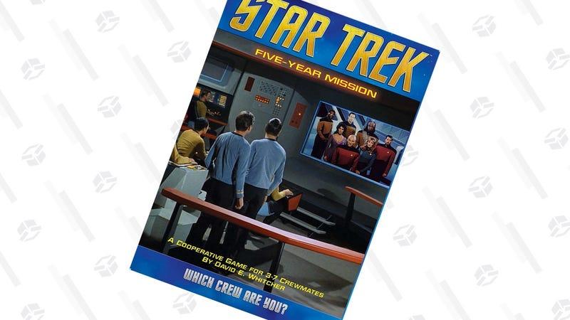 Star Trek: Five-Year Mission Board Game | $22 | Amazon