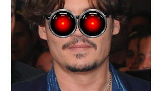 Illustration for article titled Johnny Depp Plays a Computer in His Next Movie, Yes, Seriously