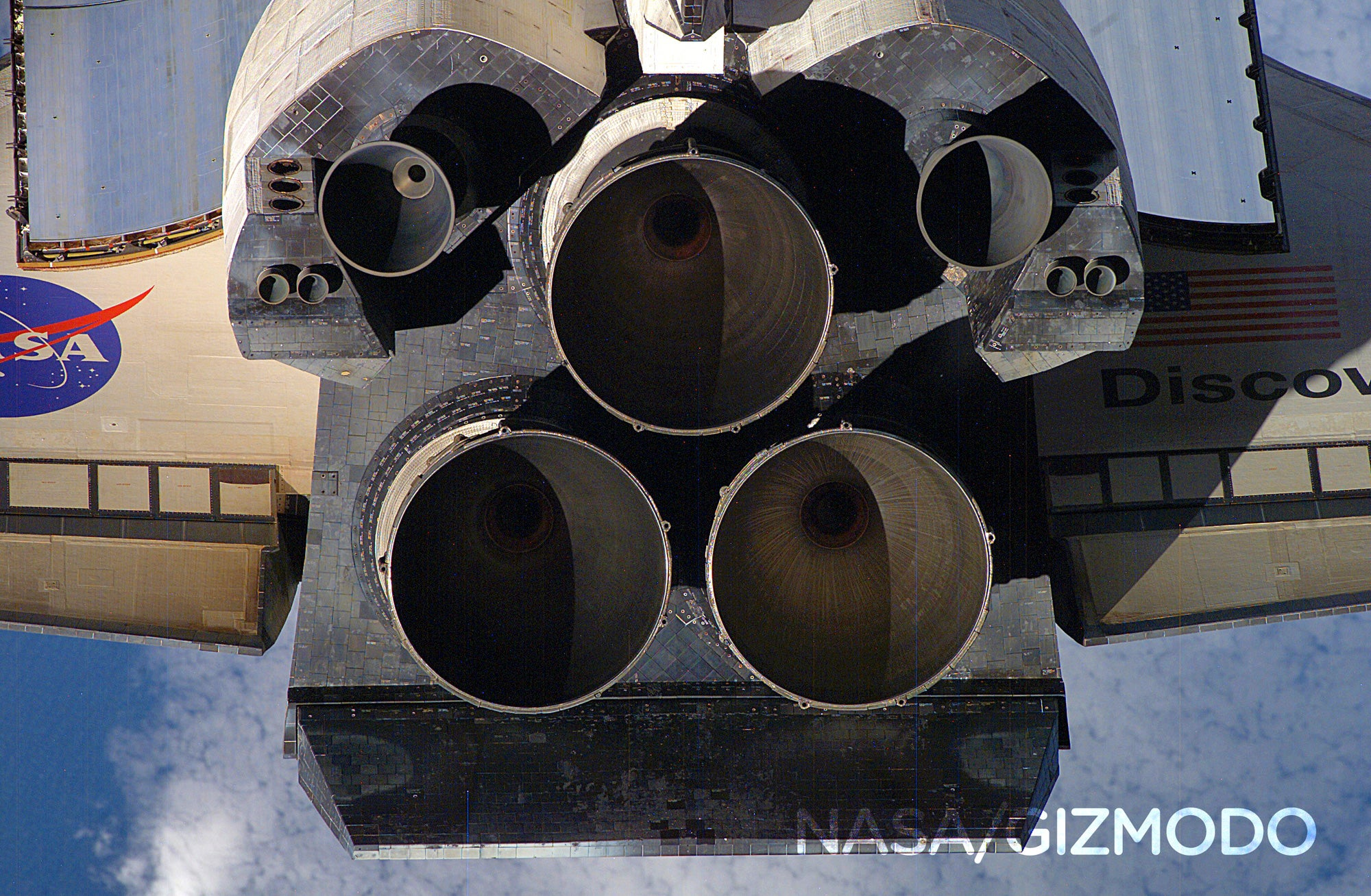 A Rare Look Into the Space Shuttle's Engines