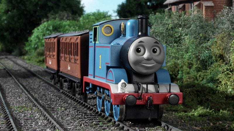 Illustration for article titled Thomas The Tank Engine A Little Uneasy With His Broad Autistic Following