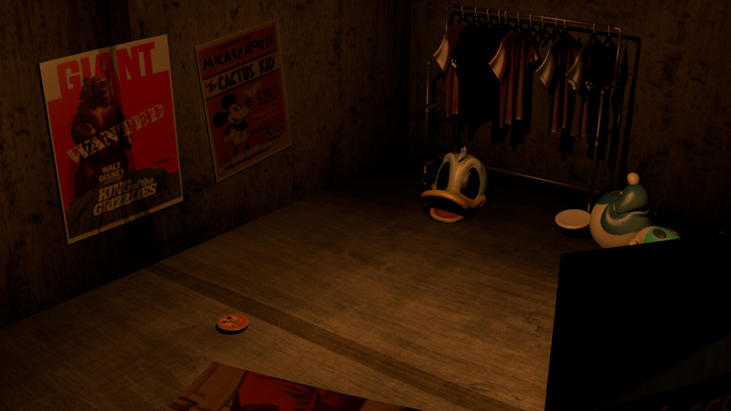 Five Nights at Freddy's Fan Game Makes Disney Characters Terrifying