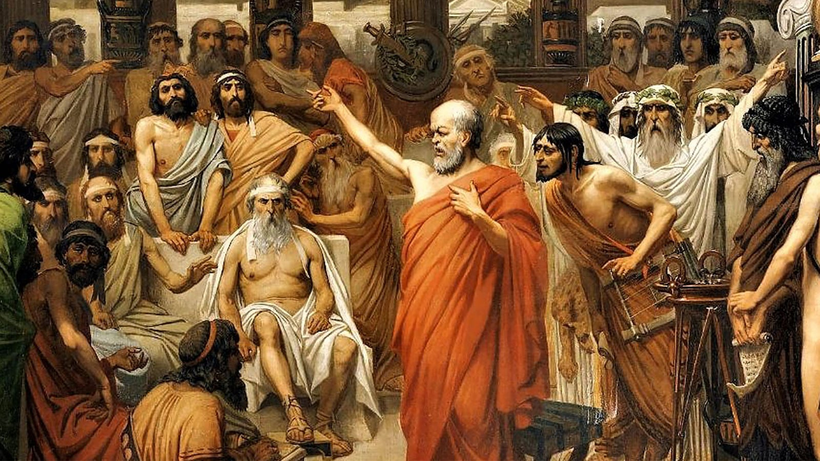 Historians Uncover Lost Socrates Dialogues Where He Just Gave Up And Started Screaming That Opponent A Fucking Brainwashed Shill