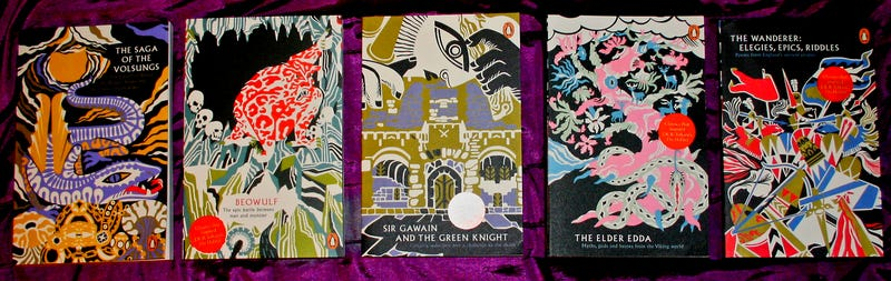 Illustration for article titled Penguin has released a set of 5 books that influenced Tolkien.
