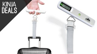 Illustration for article titled Dodge Overweight Baggage Fees with This $12 Luggage Scale