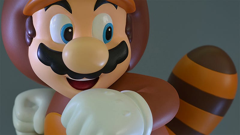 Illustration for article titled A New Mario Statue Line Begins With The Perfect Plumber Outfit