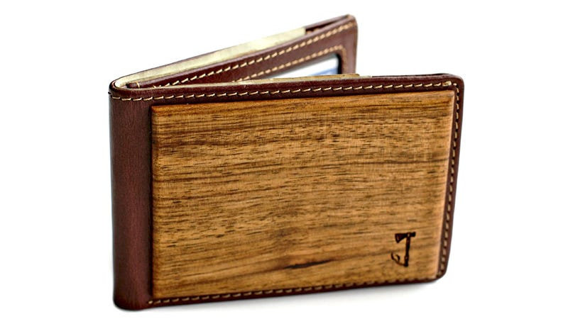Illustration for article titled It's Too Bad This Zebrawood Wallet In Your Pocket Will Lead To Many Terrible Jokes