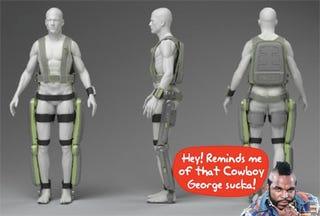 Illustration for article titled ReWalk Exoskeleton Leaves T So Speechless He Can't Finish the Headline