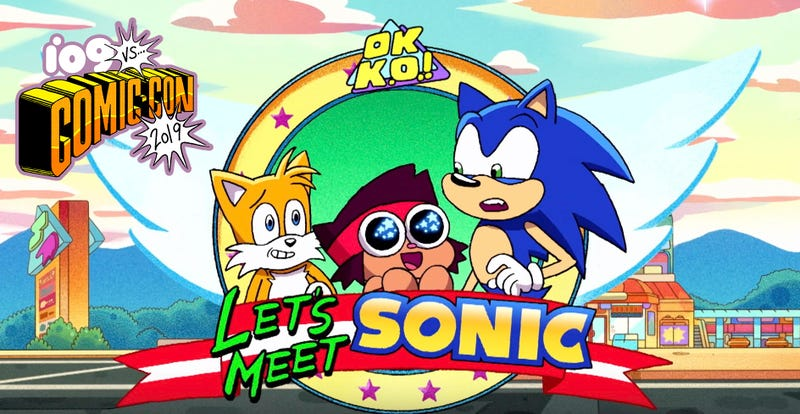 Illustration for article titled Sonic Is Coming to OK KO, and More First Looks at Cartoon Network's Newest and Returning Shows