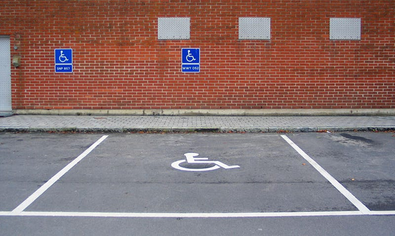 Can you get a parking ticket even if you have a handicap parking placard?
