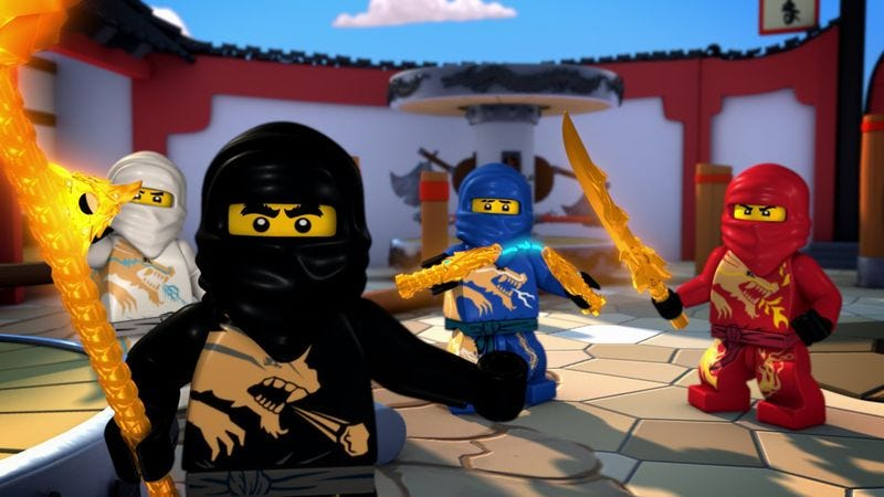 Illustration for article titled Lego Movie spin-off Ninjago is a go, gets go-ahead for 2016-go