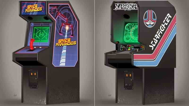 Illustration for article titled ​If the Arcade Game from Tron Existed, It'd Look a Lot Like This