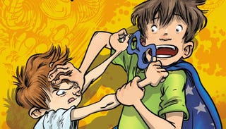 Illustration for article titled First Exclusive Look At The Mortification In My Brother Is A Superhero!