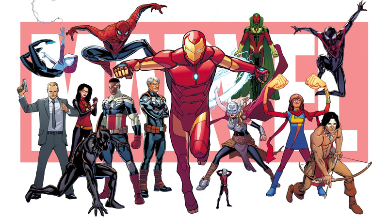 "Illustration for article titled Everything You Need To Know About Marvel's ""All-New, All-Different"" Comic Universe"