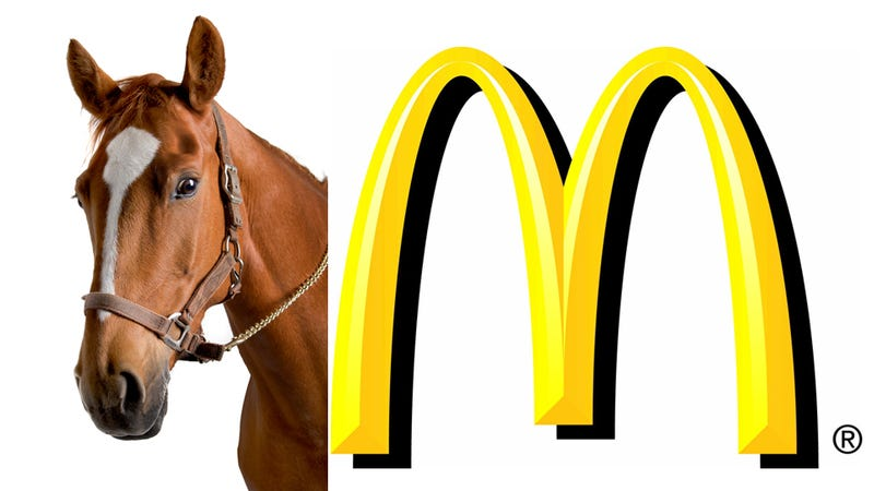 Illustration for article titled A Horse Walks Into a McDonald's… And Shits on the Floor