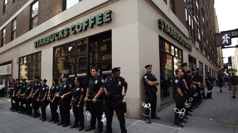 Image result for Starbucks Kicked Out Police Officers Because Customers 'Did Not Feel Safe