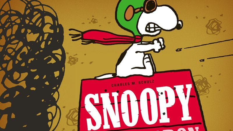 Illustration for article titled Exclusive Fantagraphics preview: Snoopy goes to war in Snoopy Vs. The Red Baron