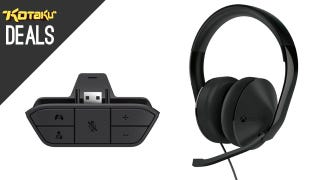 Illustration for article titled Pre-Order Xbox One's Stereo Headset and Headset Adapter Now