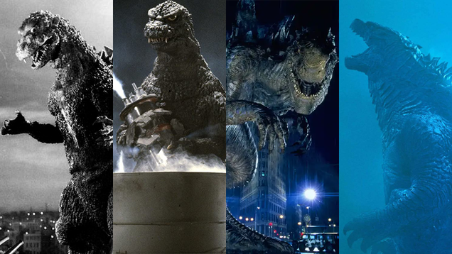 The Long History of Godzilla s Cinematic Looks