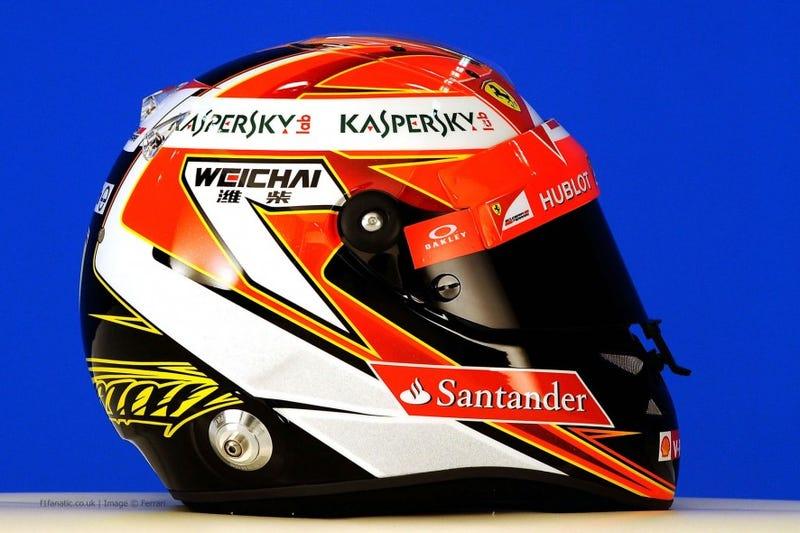 Illustration for article titled F1 2014 Helmet Design [Update]