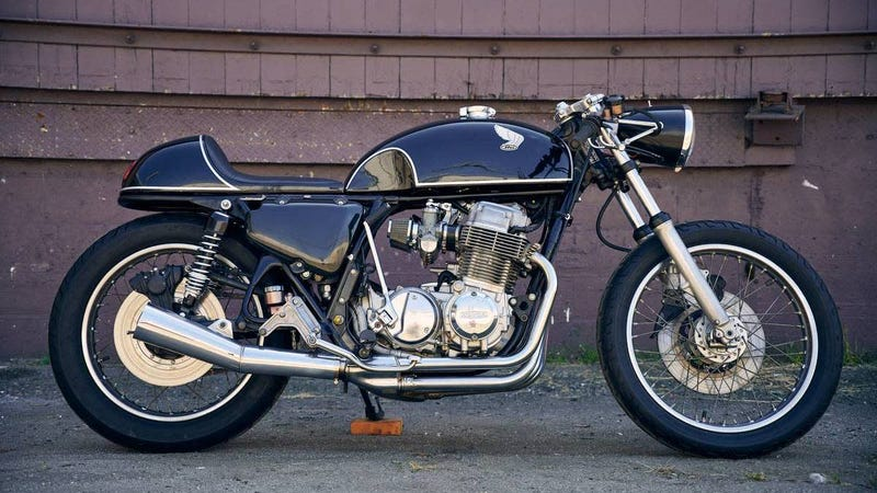 Illustration for article titled At $4,995, Does This 1976 Honda CB750F Put The Caffeine In Café?