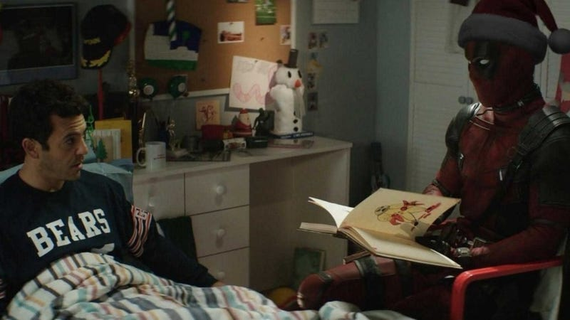 Illustration for article titled ¿Casualidad o tomadura de pelo? Un fan predijo la trama deOnce Upon a Deadpool hace un año