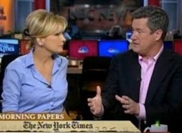 Illustration for article titled Mika Brzezinski Denies She's Being Silenced On Morning Joe