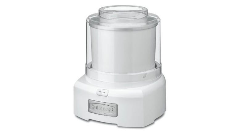 Illustration for article titled [GONE] This Cuisinart Ice Cream and FroYo Maker is a Cool Deal at Just $35