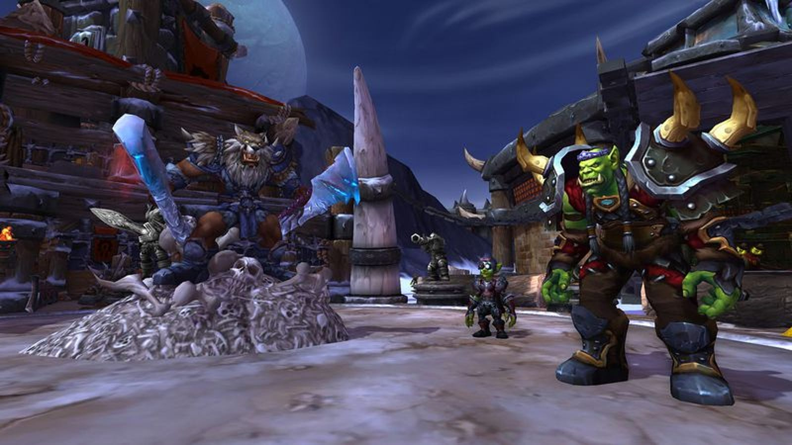 The new World Of Warcraft expansion goes back in time but