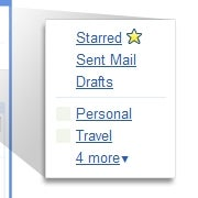 Illustration for article titled Gmail Gives Labels the Folder Treatment