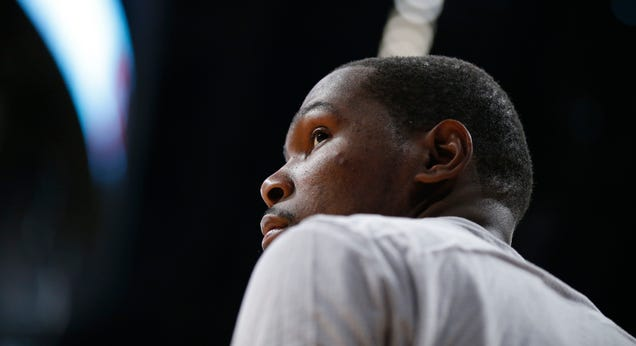 Oh Look, Kevin Durant Is Complaining About The Media Again