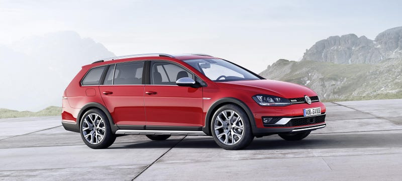 Illustration for article titled The 2015 Volkswagen Alltrack Is The Best Golf For The Family Yet