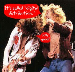 Illustration for article titled Led Zeppelin Changes Tune, Puts Whole Catalog Online