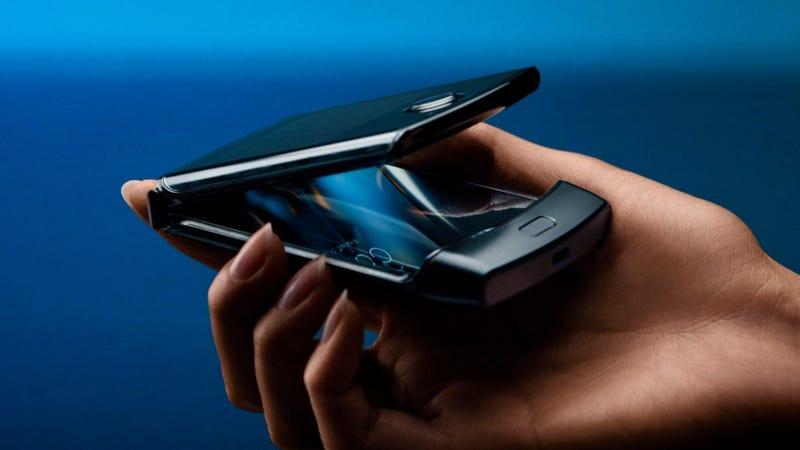 The new Motorola Razr.