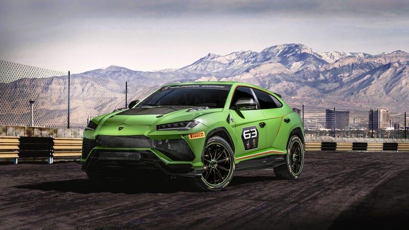 The Lamborghini Urus ST-X racing concept.