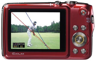 Illustration for article titled Casio Exilim EX-FS10 Camera Is Also Your Smarmy Golf Pro