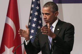 President Barack ObamaChris McGrath/Getty Images