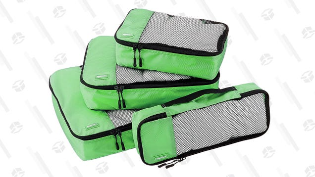 Make Your Upcoming Travels Less Stressful With This Deal on Packing Cubes